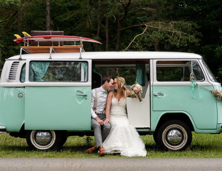 Vintage bruiloft in Nunspeet