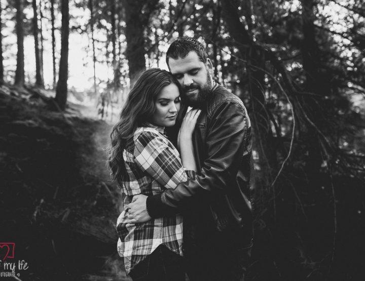 Loveshoot in the woods | Bas & Maaike