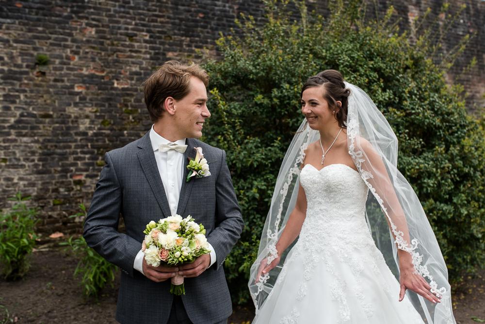 trouwen voor de kerk