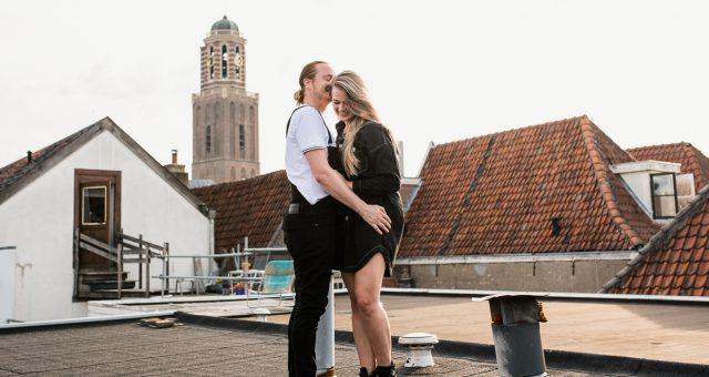 Loveshoot in Zwolle | Erik & Christel