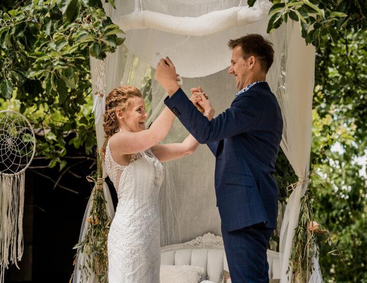 Jasper & Nina   Trouwen bij de Prinschenhoeve