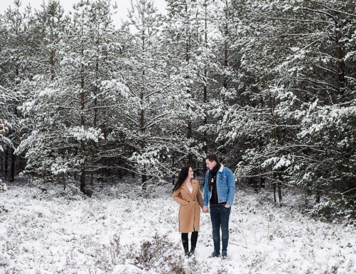 Loveshoot in de Sneeuw