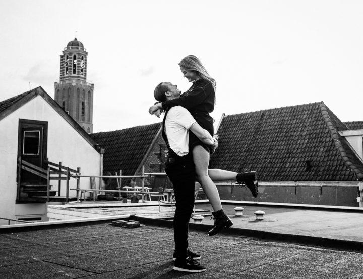 Erik & Christel | Zwolle 'Rooftop' Loveshoot